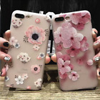 FASHION Lady 3D Floral Soft TPU ShockProof Case Cover For iPhone 6/7 PLUS gifts
