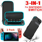 For Nintendo Switch Accessories Case Bag+Hard Shell Cover+Screen Protector Film