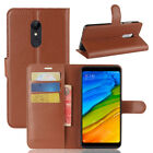For Xiaomi Redmi 5 + 7A Note 6 7 8 Pro 4 Magnetic Flip Leather Wallet Case Cover
