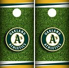 Oakland Athletics Cornhole Wrap MLB Field Game Board Skin Set Vinyl Decal CO428 on Ebay