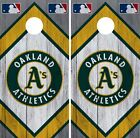 Oakland Athletics Cornhole Wrap MLB Wood Game Board Skin Set Vinyl Decal CO430 on Ebay
