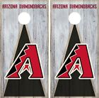 Arizona Diamondbacks Cornhole Wrap MLB Vintage Game Skin Set Vinyl Decal CO459 on Ebay