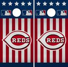 Cincinnati Reds Cornhole Wrap MLB America Game Board Skin Set Vinyl Decal CO475 on Ebay