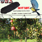 25FT / 50FT Anti Bird Protection Net Fruit Vegetable Flower Garden Pond Netting