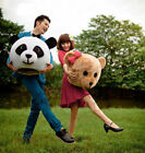 mascot costume accessories - Costume Mascot Arrival Accessory Panda & Teddy Bear only Heads Cartoon for lover