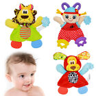 Baby Soft Appease Towel Doll Toy Pacifier Playmate Infant Dental Care Teethers