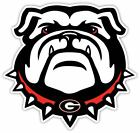 Georgia University Bulldog Vinyl Sticker Decal **SIZES** Wal