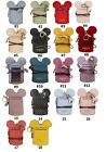MICKEY MOUSE SHAPE NAME ID CARD HOLDER BADGE WALLET PURSE NECK LANYARD