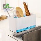 Separated Washable Dishes Draining Rack Kitchen Drainboard Organizer Storage Box