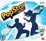 Pop Star Guitar With Two  Grips Nintendo Wii NEW