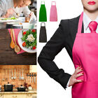 LADIES WOMEN APRON OVERALL KITCHEN CATERING CLEANING BAR PLUS SIZE with POCKET
