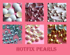 Hotfix Pearls & Half-Domes - Various Colours/Sizes/Quantities - FREE POSTAGE