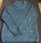 Rue21 Men's Knit Grey Cowl Neck Sweater - L, XL