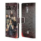lumia 520 cases and covers - OFFICIAL WWE SANITY LEATHER BOOK WALLET CASE COVER FOR MICROSOFT NOKIA PHONES