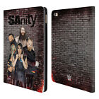 OFFICIAL WWE SANITY LEATHER BOOK WALLET CASE COVER FOR APPLE iPAD