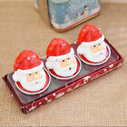 1 pcs candle small ornaments Santa Claus Pine nuts candle Christmas decorations