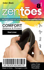 ZenToes Heel Cushion Back of Shoes Adhesive Inserts Protector Liners 8 Foam Pads
