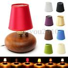 Fabric Chandelier Lampshade Holder Clip on Sconce Bedroom Beside Bed Lamp Light