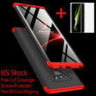 For Samsung Galaxy Note 10/9/8/S8/S9/S10/S20 Plus 5G S7 SHOCKPROOF SLIM 360 Case