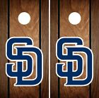 San Diego Padres Cornhole Wrap MLB Game Board Skin Set Vinyl Decal Art CO525 on Ebay