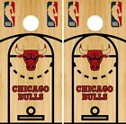 Chicago Bulls Cornhole Wrap NBA Court Game Skin Board Set Vinyl Decal CO578 on eBay