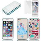 Soft Plastic Ultre Thin Case Cover w Bumper Frame for Apple iPhone 6 Plus 5.5""