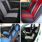 US STOCK 9 Part Universal Auto Car Seat Covers Front Rear Head Rests Full Set