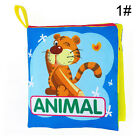 Hot Educational Toy Kid Baby Intelligence Development Soft Cloth Cognize Book