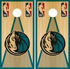 Dallas Mavericks Cornhole Wrap NBA Vintage Game Skin Set Vinyl Decal Decor CO587 on eBay