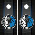 Dallas Mavericks Cornhole Wrap NBA Game Board Skin Set Vinyl Decal Art CO591 on eBay