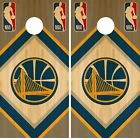 Golden State Warriors Cornhole Wrap NBA Wood Game Skin Set Vinyl Decal CO606 on eBay