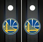Golden State Warriors Cornhole Wrap NBA Game Skin Set Vinyl Decal Art CO609 on eBay