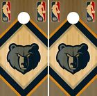 Memphis Grizzlies Cornhole Wrap NBA Wood Game Board Skin Set Vinyl Decal CO636 on eBay