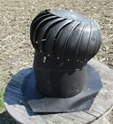 Circular Galvanized Metal Spinning Barn Roof Wind Ventilator Air Turbine Vent d