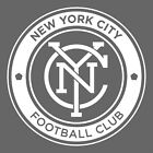 New York City Football Club NYC FC Decals White Black Pink Free Shipping
