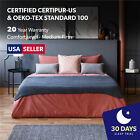 "12"" Pocket Spring & Gel Memory Foam Hybrid Bed Mattress Twin Full Queen King"