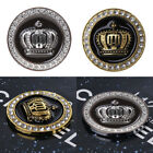 3D Diamond Crown Personalized Auto Sticker Metal Badge Car Stickers and Decals