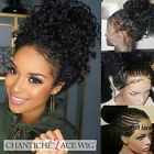 Curly Remy Human Hair Lace Front Wigs For Black Women Real Full Lace Wigs 150%