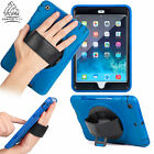 Apple iPad Survivor Protective Case Hand Strap Strong Cover Car Headrest Holder