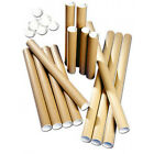 Cardboard Postal Tubes - Extra Strong Quality - All Sizes A4 A3 A2 A1 A0 CS