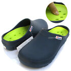 Men Chef Shoes Clogs Comfort Slippers Sandal Cushioned Kitchen Non-Slip Navy
