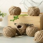 Внешний вид - 30m 2 Ply Natural Jute Hessian Burlap Thread String Yarn Hemp Butcher Twine NT5