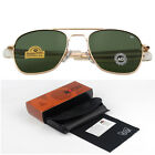 Fashion Sunglasses Men American Army Military Designer Sun Glass Lens sol RS263