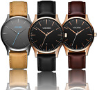 Minimalist Classic Watch | MENS WOMENS WATCHES BLACK WRISTWATCHES image