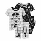 NEW Carter's 4 Piece Pirate Themed PJs NWT 2T 3T 4T Boys Pajamas Captain