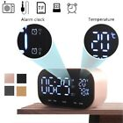 Bluetooth 4.2 Temperature LCD Display FM Radio Alarm Clock Music Player Speaker