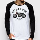 Cafe Racer classic Motorcycle triumph norton enfield long sleeve t-shirt oz9167 €15.41 EUR on eBay