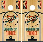 Oklahoma City Thunder Cornhole Wrap NBA Game Board Skin Vinyl Decal Court CO674 on eBay