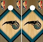 Orlando Magic Cornhole Wrap NBA Game Board Skin Vinyl Decal Wood Set CO678 on eBay