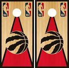 Toronto Raptors Cornhole Wrap NBA Game Skin Board Vinyl Decal Vintage Set CO713 on eBay